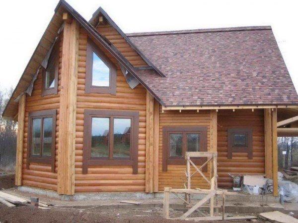Архитектура деревянных домов весьма разнообразна