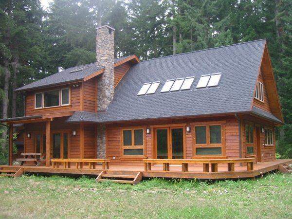 Архитектура постройки может быть весьма разнообразна