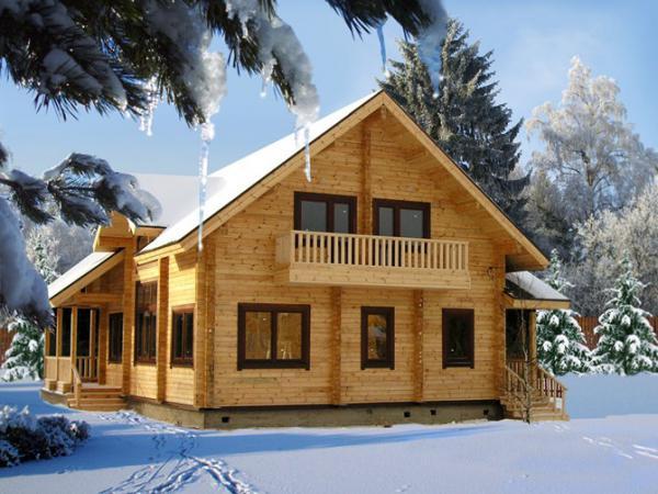 Чтобы зимой чувствовать себя комфортно в доме из бруса – он должен быть качественно утеплен