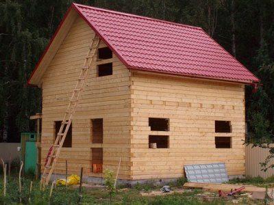 Как построить дом 6на6 из бруса своими руками