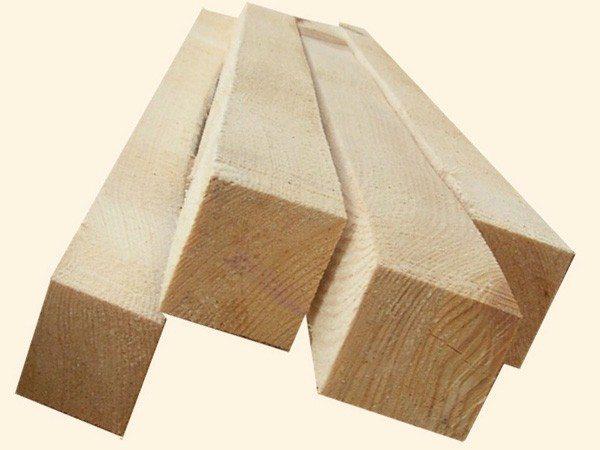 Для подобного деревоматериала используется опора для бруса 100х100 мм
