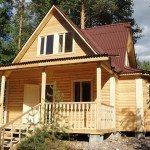 Дом из экобруса