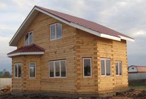 Эксклюзивный проект деревянного дома