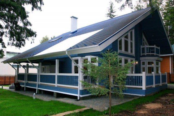 Фото дома для дачи из бруса