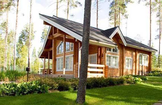 Финский домик – рационально и комфортно