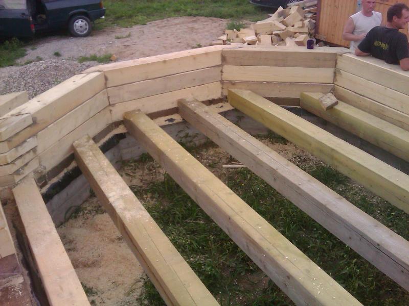 Как построить деревянный дом из бруса своими руками пошаговая инструкция 4
