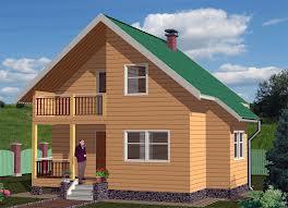 Фото примерного проектного решения дома