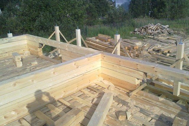 Строительство из бруса своими руками пошаговая инструкция 84