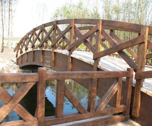 Гнуто-клееные мостовые конструкции.