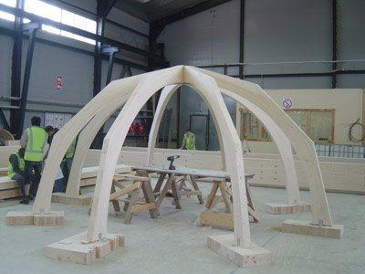 Гнутые конструкции из дерева своими руками 1
