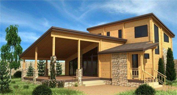 Хотите обладать просторным, красивым и функциональным коттеджем? Из бруса можно возвести любое строение!