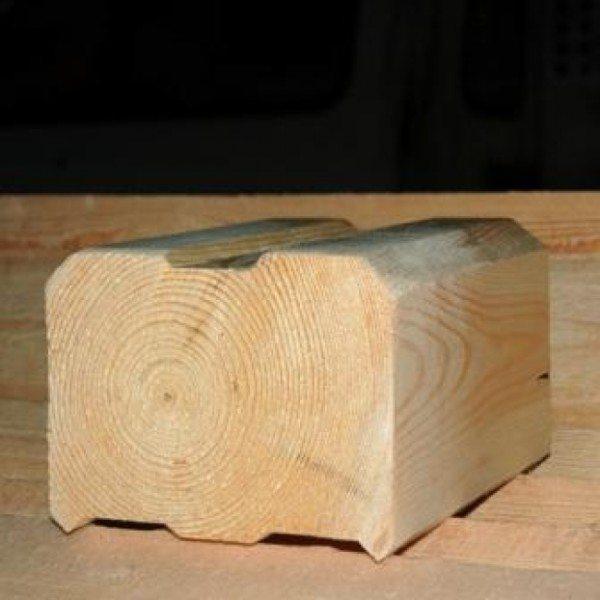 Из цельного массива дерева