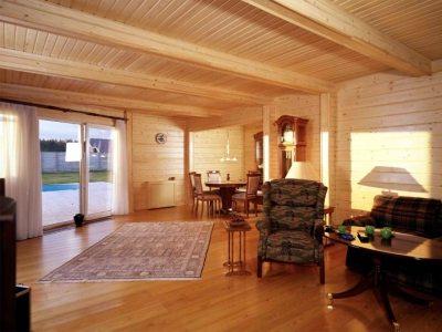 Когда видишь прекрасные дома из дерева, становится не важно, сколько стоит профилированный брус.