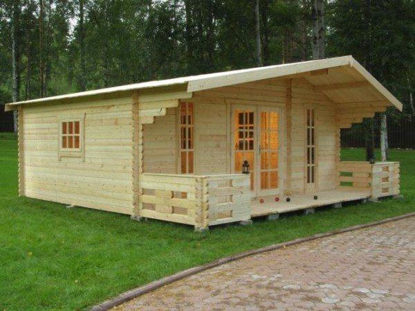 Красивый домик, который вы можете собрать всего за две недели