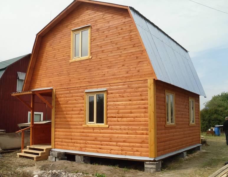 Построить дом 6х6 своими руками из бруса