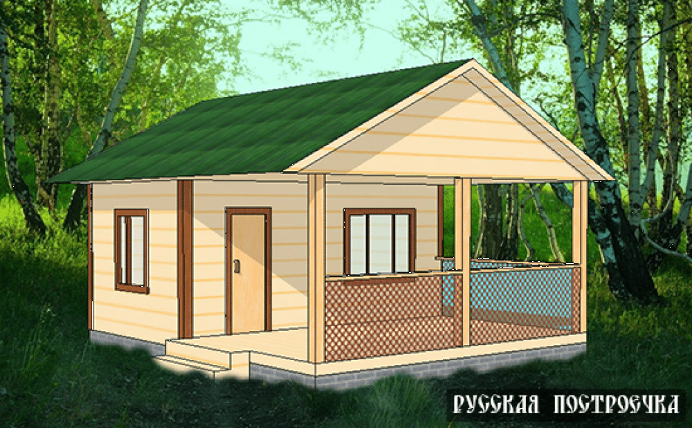 Строительство летней кухни своими руками на даче