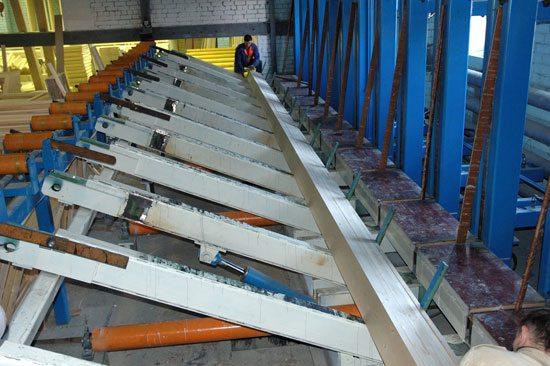 Линия по производству бруса