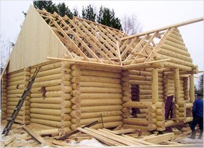 Любительское фото, показывающее принцип обустройства крыши