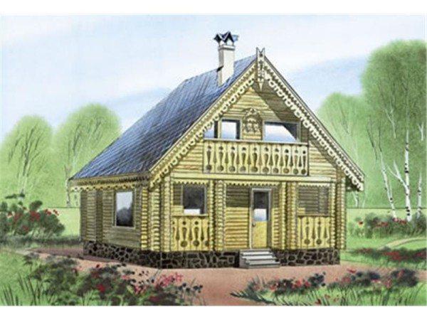 На фото – аккуратненький и весьма красивый домик «Гончары». Несмотря на компактность, в нем достаточно много свободного места.