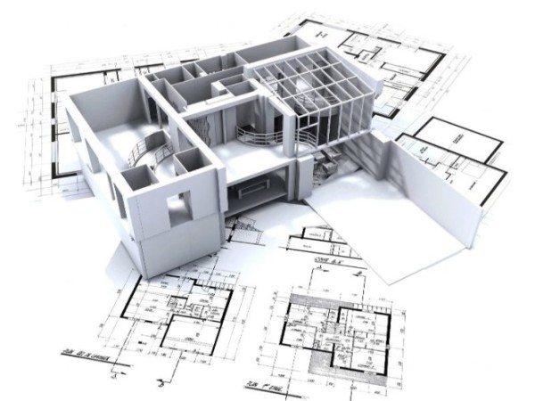 На фото – проект дома.
