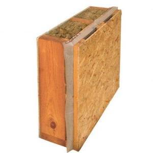 На фото изоляционный слой для деревянных стен в разрезе