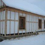 Наружное утепление дома из бруса