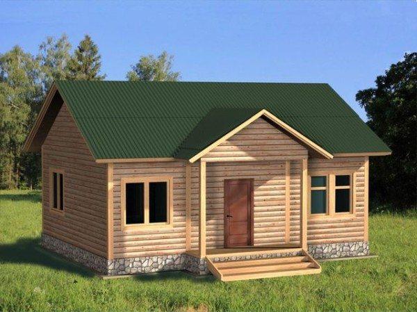 Одноэтажное строение – дачный формат.
