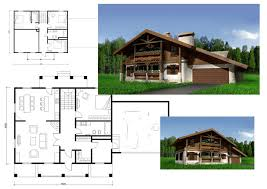 План расположения комнат в одноэтажном доме