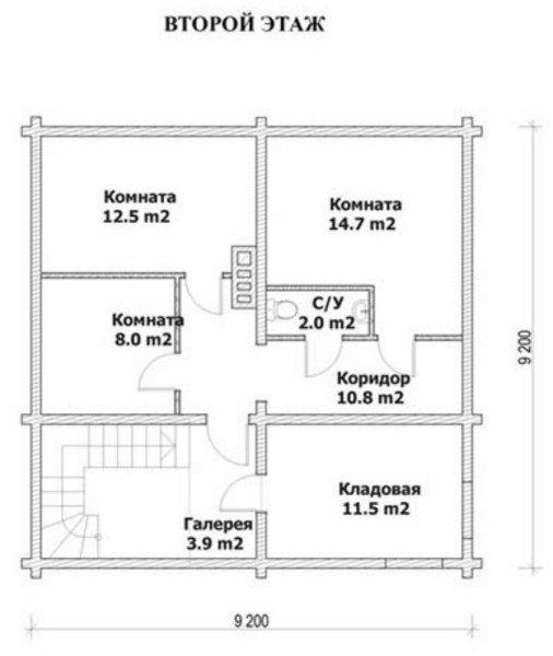 Планирование пространства 2-ого этажа