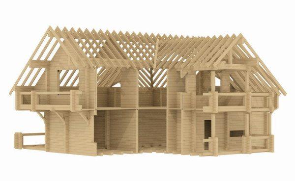 Построить финский деревянный дом из клееного бруса – это реально