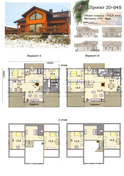Пример грамотно сделанного проекта дома