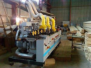 Промышленное оборудование для производства бруса