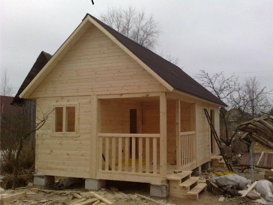 Дачный домик своими руками фото