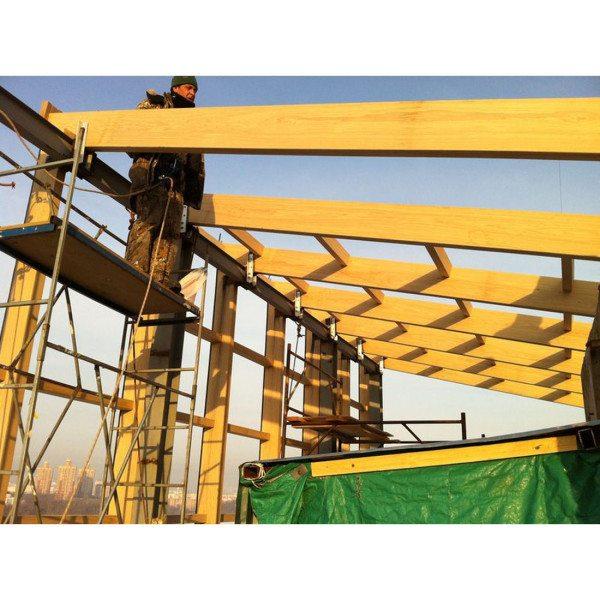 Широкое применение при строительстве получил опорный брус: палубы, стропила, несущие балки и т.д.