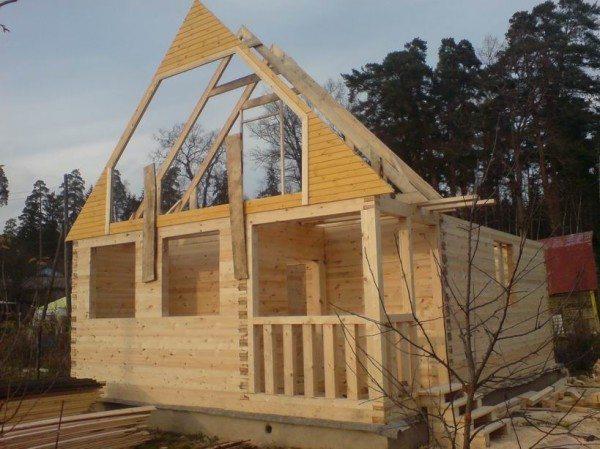 Строим дом в полтора этажа