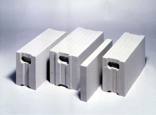 Строительные газобетонные блоки.