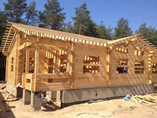 Строительство домов из бруса своими руками без опыта строительства