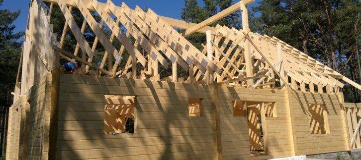 Строительство в разгаре