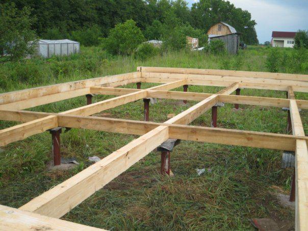 Винтовой фундамент для деревянного дома своими руками