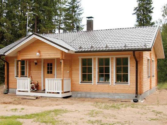 Типовая загородная конструкция