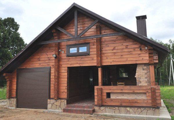 Типовой дом с гаражом