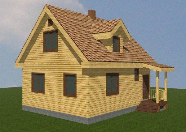 Трехмерная модель будущего здания