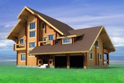 В комплекс могут также входить баня, терраса и другие функциональные помещения