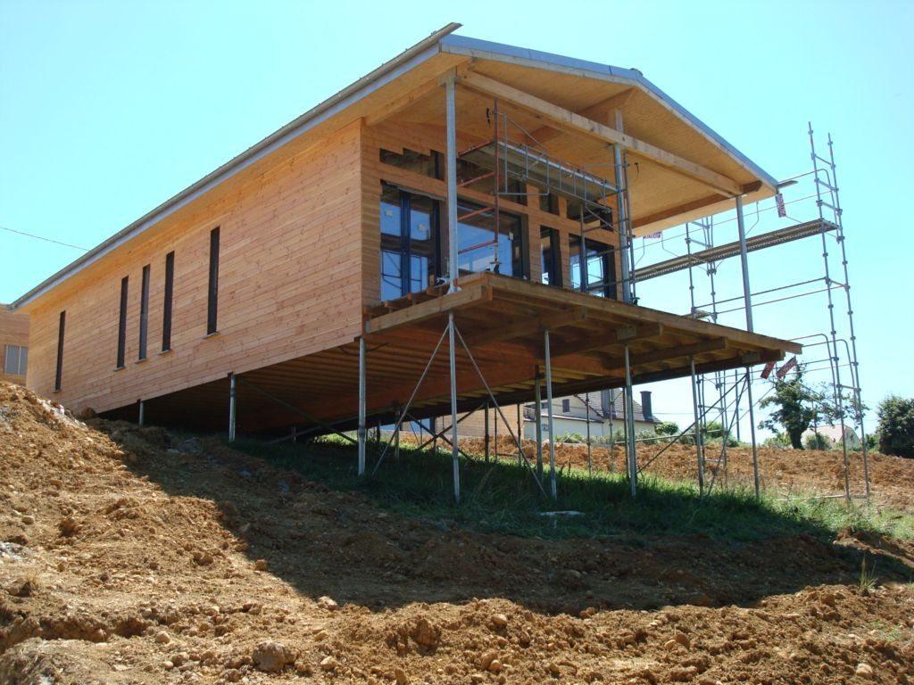 Как построить дом на сваях своими руками 99