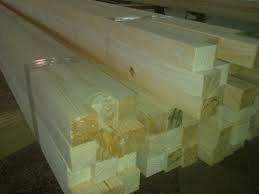 Вологодский сухой строганный брусок 50х50 из сосны, камерная сушка, влажность 8-10%.