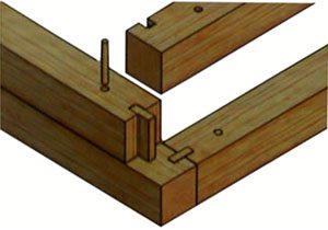 Вот и деревянные шпонки