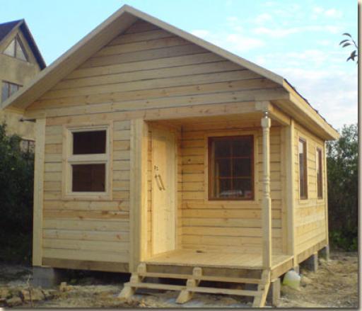Вот такое симпатичное и полезное строение может получиться у каждого из вас!