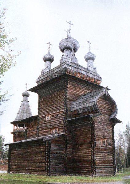 Вознесенская церковь, построенная в 1669 году