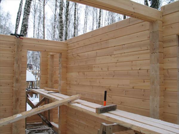 Строительство дома бани своими руками