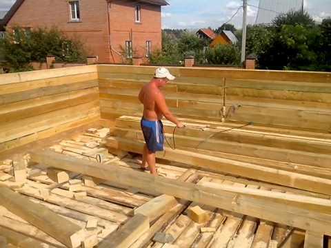Защитная обработка древесины антисептиком